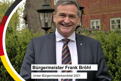 Bürgermeisterkandidat Frank Bröhl