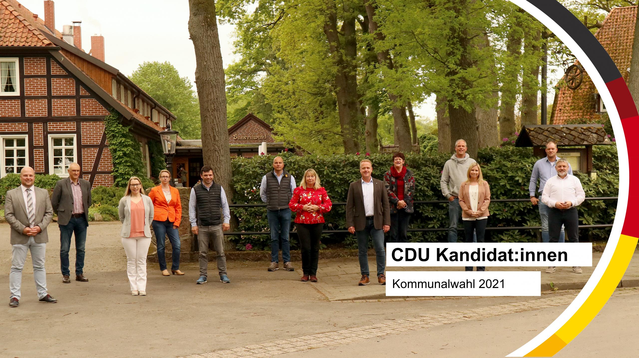 CDU Kandidat:innen Kommunalwahl 2021