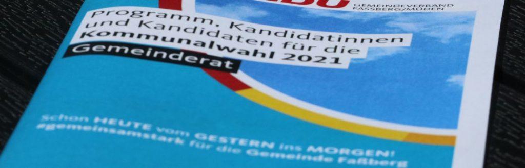 Wahlprogramm 2021-2026